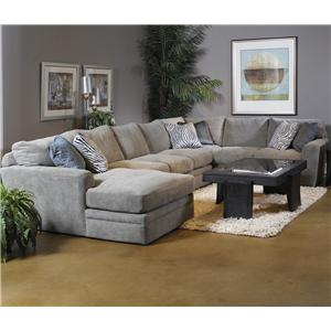 Fairmont Designs Foley Foley Feather Blend Sectional
