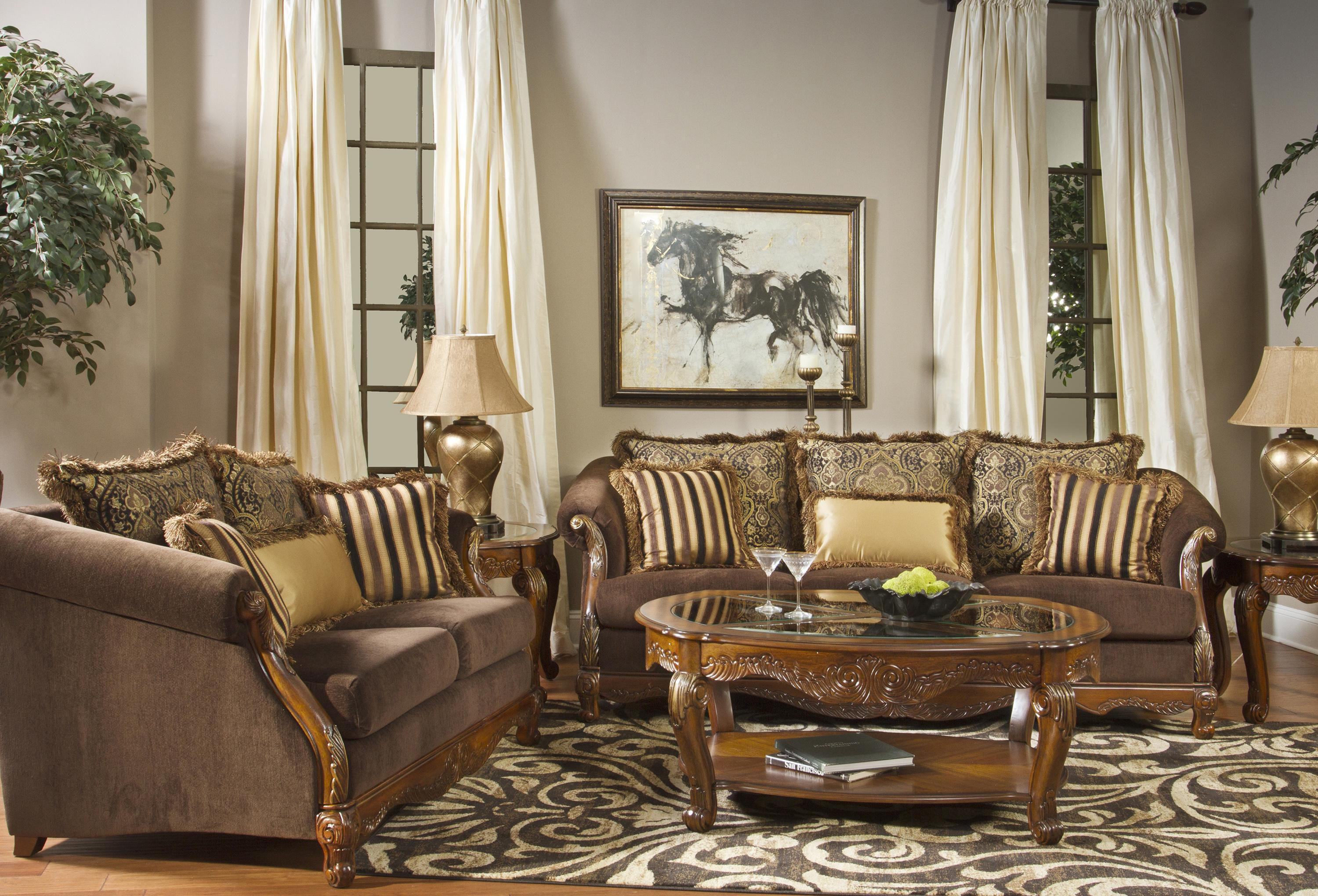 fairmont designs versailles stationary living room group signature design by ashley delburne full bedroom group