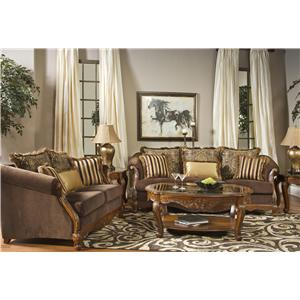 Fairmont Designs Versailles Stationary Living Room Group | Dream Home  Furniture | Upholstery Group