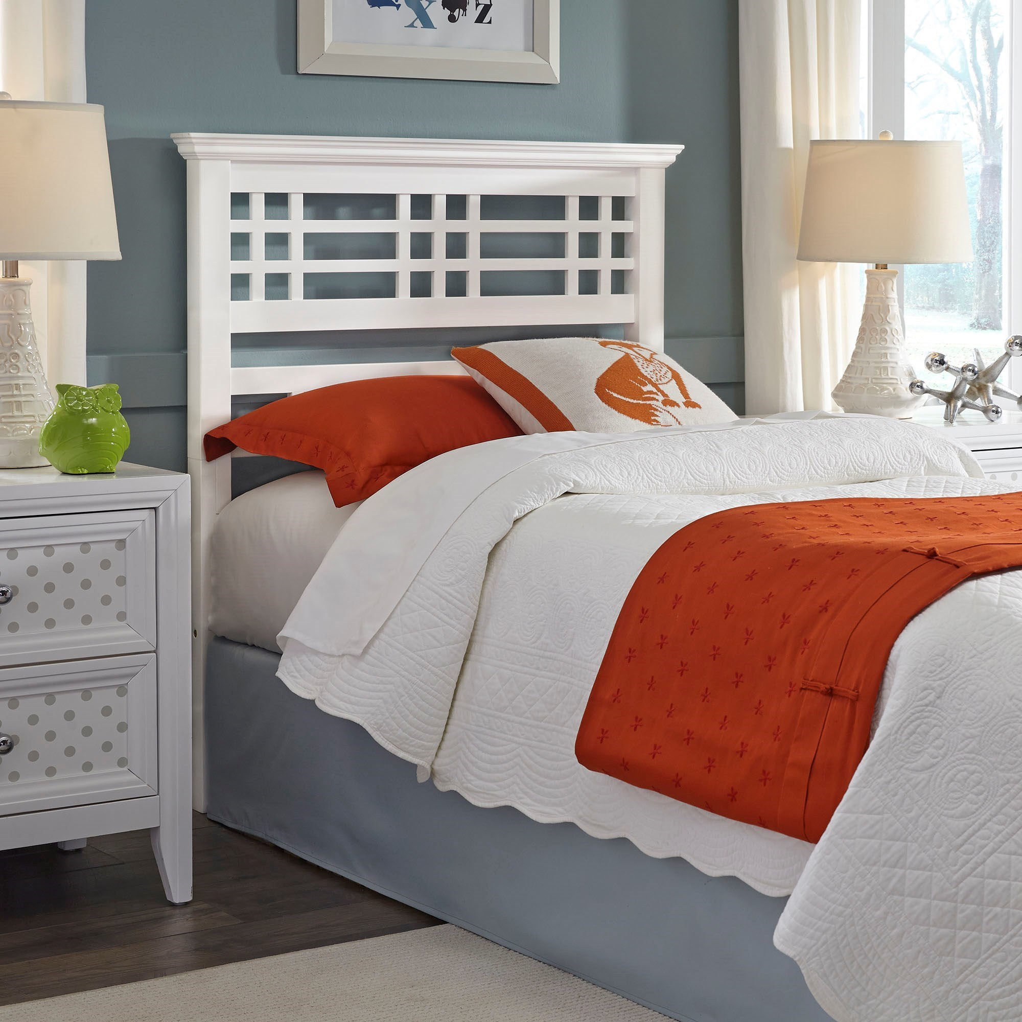 Canopy Style Bed Available For Order In These Wood Colours: Fashion Bed Group Avery Twin Headboard