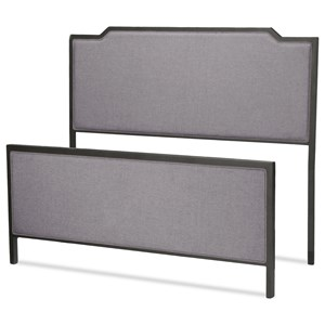 Fashion Bed Group Bayview King Bayview Headboard and Footboard