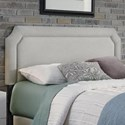 Fashion Bed Group Chandler Chandler Full/Queen Upholstered Headboard - Item Number: B72981