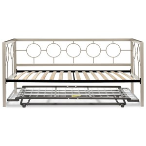 Twin Daybed w/ Euro Top Deck & Pop-Up Frame