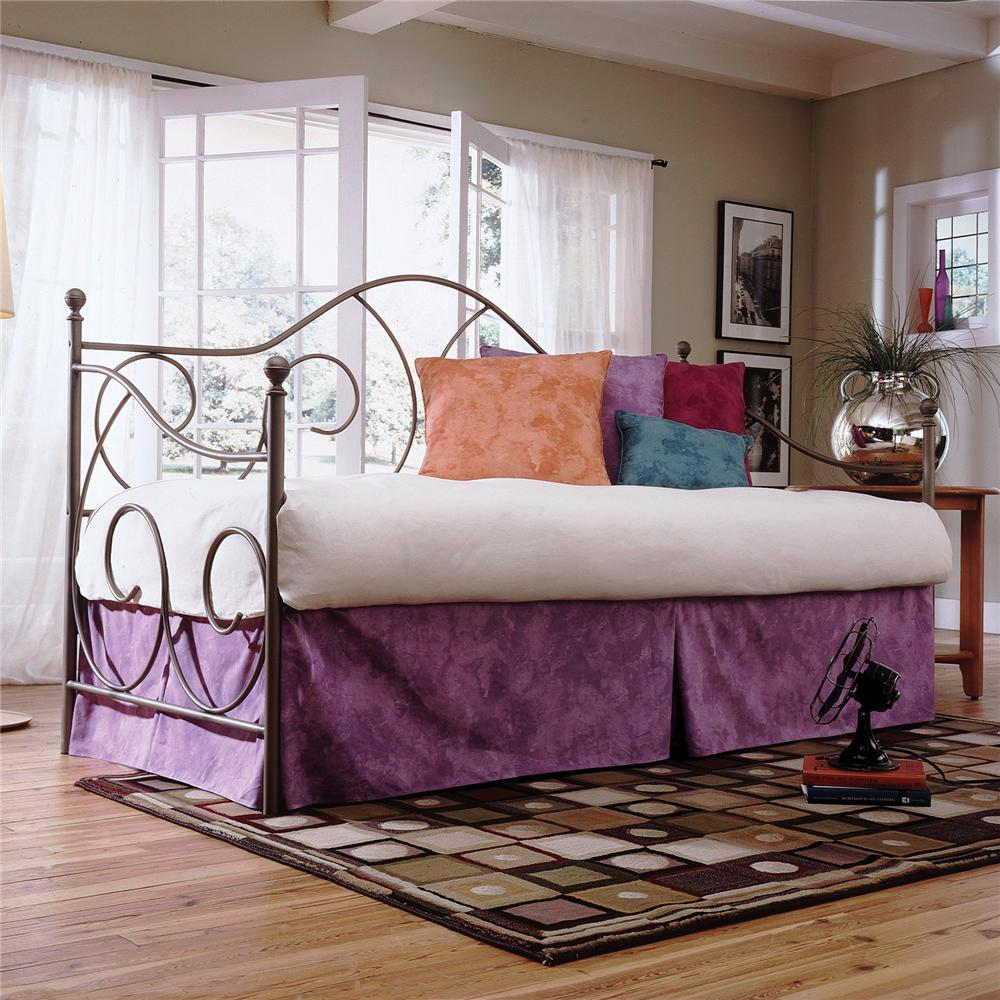 Fashion Bed Group Daybeds Caroline Daybed with Linkspring - Item Number: B10183+480139
