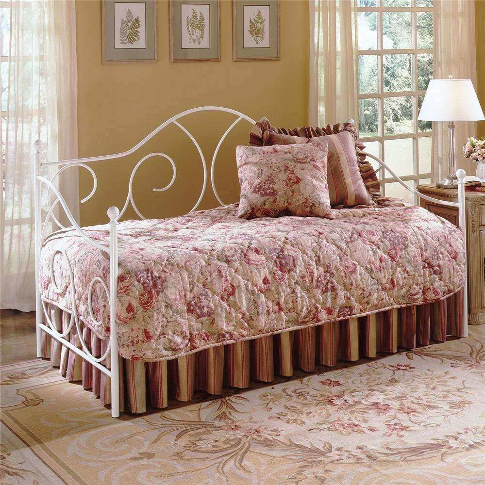 Fashion Bed Group Daybeds Caroline Daybed with Linkspring - Item Number: B10193+480139