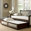 Fashion Bed Group Daybeds Roll Out Wood Trundle Drawer for Grandover Daybed with Espresso Finish