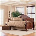 Morris Home Furnishings Daybeds Fraser Daybed with Linkspring - Item Number: B50113+480139