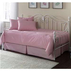 Fashion Bed Group Daybeds Stephanie Daybed with Linkspring