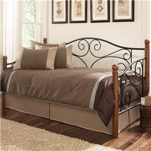 Fashion Bed Group Daybeds Doral Daybed with Link Spring