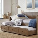 Fashion Bed Group Daybeds Carston Trundle - Item Number: B50340