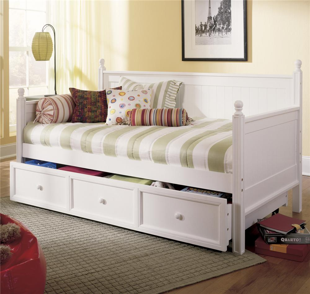 Fashion Bed Group Daybeds Casey II Daybed w/ Trundle - AHFA - Daybed ...