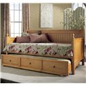 Fashion Bed Group Daybeds Casey II Daybed w/ Trundle - Item Number: B51C53