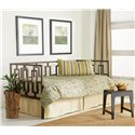 Fashion Bed Group Daybeds Miami Daybed w/ Linkspring