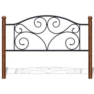 Fashion Bed Group Doral Doral Full Headboard