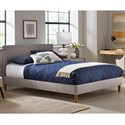 Fashion Bed Group Elsinore Queen Elsinore Upholstered Bed - Item Number: B71G55