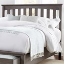 Fashion Bed Group Hampton King/Cal King Headboard - Item Number: B22160
