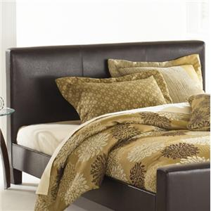 Morris Home Furnishings Leather Queen Euro Headboard