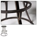 Morris Home Furnishings Metal Barstools Transitional Dover Metal Barstool