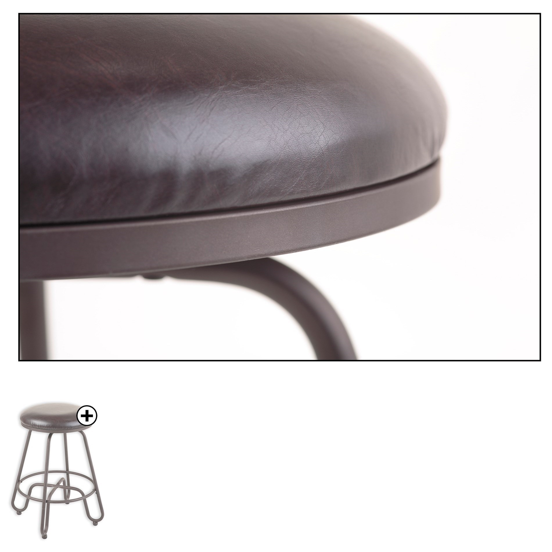 Fashion Bed Group Metal Barstools C1m016 Transitional