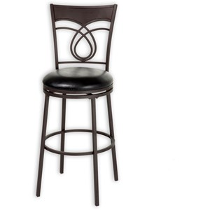 Morris Home Furnishings Metal Barstools Madison Metal Barstool