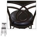 Morris Home Furnishings Metal Barstools Transitional Madison Metal Barstool