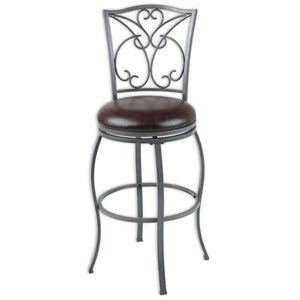 Morris Home Furnishings Metal Barstools Columbia Metal Barstool