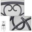 Morris Home Furnishings Metal Barstools Traditional Columbia Metal Barstool
