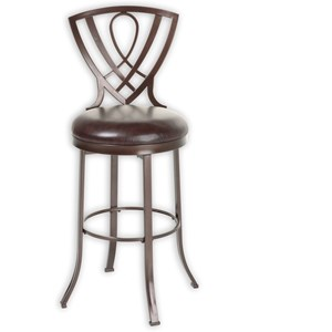 Morris Home Furnishings Metal Barstools Lincoln Metal Barstool