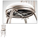 Fashion Bed Group Metal Barstools Transitional Concord Metal Barstool