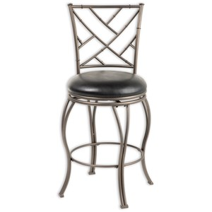 Fashion Bed Group Metal Barstools Honolulu Metal Barstool