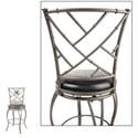 Morris Home Furnishings Metal Barstools Honolulu Transitional Metal Barstool