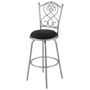 Morris Home Furnishings Metal Barstools Atlanta Metal Barstool