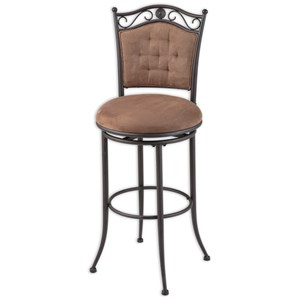 Morris Home Furnishings Metal Barstools Helena Metal Barstool