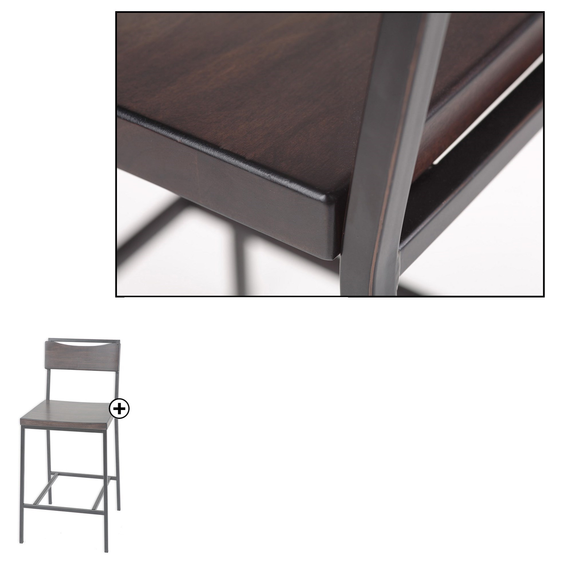 Fashion Bed Group Metal Barstools Transitional Columbus
