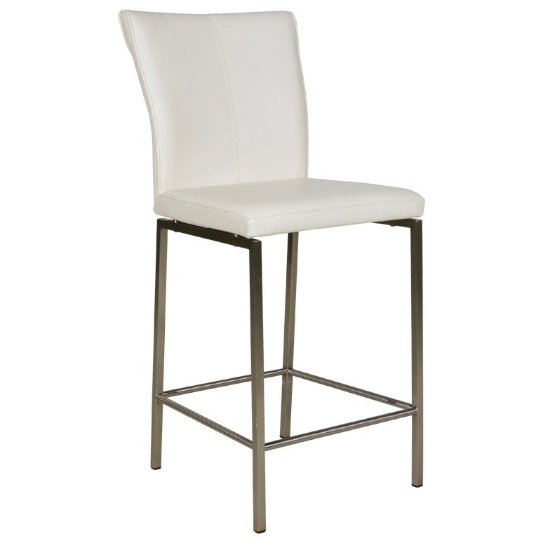 Fashion Bed Group Metal Barstools Cheyenne Metal Counter