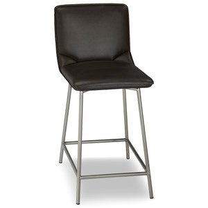 Morris Home Furnishings Metal Barstools 26-Inch Pierre Barstool