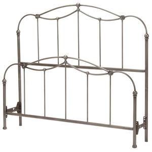 Morris Home Furnishings Metal Beds Queen Affinity Bed
