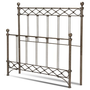 Morris Home Metal Beds Cal King Headboard and Footboard