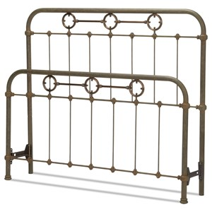 Fashion Bed Group Metal Beds Queen Madera Headboard and Footboard