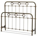 Fashion Bed Group Metal Beds King Madera Headboard and Footboard - Item Number: B10986