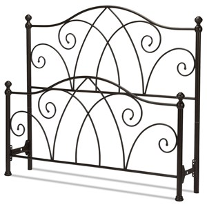 Morris Home Metal Beds Queen Deland Bed