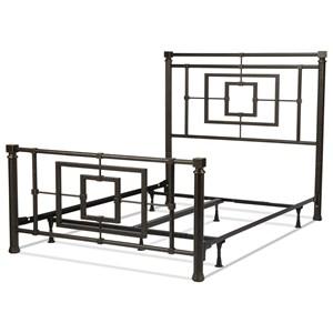 Full Metal Ornamental Bed