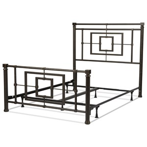 Fashion Bed Group Metal Beds King Metal Ornamental Bed