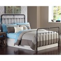 Morris Home Furnishings Metal Beds Queen Transitional Fairfield Metal Ornamental Bed