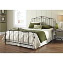 Fashion Bed Group Metal Beds Queen Transitional Affinity Metal Ornamental Bed