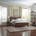 Fashion Bed Group Metal Beds King Transitional Arlington Metal Ornamental Bed