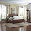 Morris Home Furnishings Metal Beds California King Transitional Arlington Metal Ornamental Bed