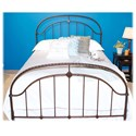 Morris Home Furnishings Metal Beds Full Transitional Cascade Metal Ornamental Bed