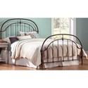 Morris Home Furnishings Metal Beds Cal King Metal Ornamental Bed - Item Number: B11387