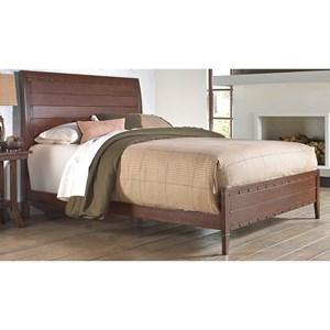Morris Home Metal Beds Cal King Metal Ornamental Bed